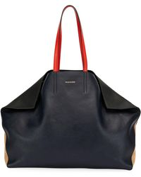 Alexander McQueen - Large Butterfly East-west Tote Bag - Lyst