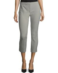 Theory - Classic Skinny Straight-leg Ankle Pants - Lyst