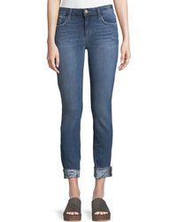 Joe's Jeans - Icon Aisha Skinny Crop Jeans - Lyst