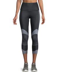 Nike - Power Cropped Training Leggings - Lyst