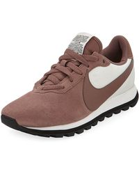 df53d894e145d Nike - Pre-love O.x. Suede Sneakers With Holograph Swoosh - Lyst