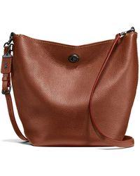 COACH - Duffle Bag In Glovetan Leather - Lyst