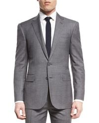 Ralph Lauren - Anthony Two-piece Sharkskin Suit Light Grey - Lyst