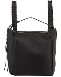 AllSaints - Kita Small Whipstitched Backpack - Lyst