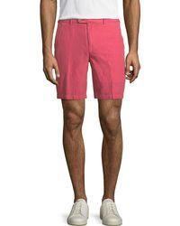 Peter Millar - Seaside Cotton-blend Shorts - Lyst