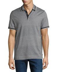 Michael Kors - Engineered Birdseye Stripe Polo Shirt - Lyst