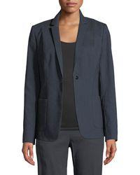 Elie Tahari - Wendy Patch-pocket Jacket W/ Embroidered Back - Lyst