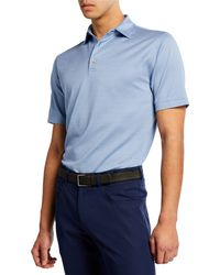 Peter Millar - Men's Mclean Jacquard Polo Shirt - Lyst