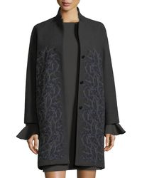 Loro Piana - Winter Sonnet Embroidered Cashmere Car Coat - Lyst