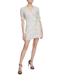 2660f78c Kate Spade Floral Dots Burnout Dress in Pink - Save 30% - Lyst