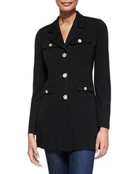 Misook - Dressed Up Button-front Jacket - Lyst