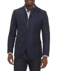 Robert Graham | Downhill Wool-cashmere Blazer With Warmer | Lyst