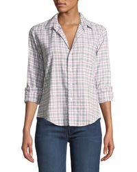 68eceb9b Frank & Eileen - Eileen Plaid Long-sleeve Button-down Shirt - Lyst