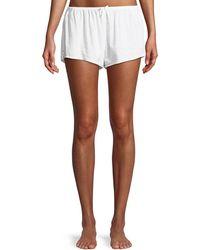 Xirena - Shaya Lightweight Cotton Lounge Shorts - Lyst