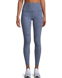 Beyond Yoga - Caught In The Midi High-waist Space-dye Leggings - Lyst
