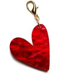 Edie Parker - Heart Bag Charm - Lyst