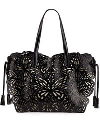 Sophia Webster - Liara Canvas Butterfly Tote Bag - Lyst