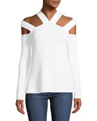 Bailey 44 - Survive Cutout Fleece Sweater - Lyst