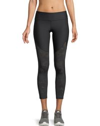 Under Armour - Vanish Cropped Mesh Leggings - Lyst