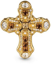 Jay Strongwater - Medieval Cross Pin - Lyst