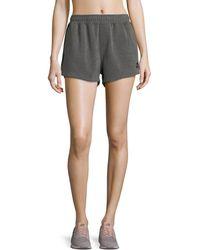 The Upside | Paneled Run Double-fleece Shorts | Lyst