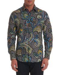 Robert Graham - Men's Sea Dragon Classic Fit Paisley Sport Shirt - Lyst
