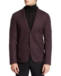 Giorgio Armani - Men's 91 Deconstructed Double-face Two-button Jacket - Lyst