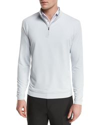 Peter Millar - Perth Quarter-zip Sweater - Lyst