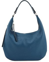 Rebecca Minkoff - Michelle Pebbled Leather Hobo Bag - Lyst
