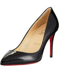 Christian Louboutin - Pigalle Follies 85mm Patent Red Sole Pump - Lyst