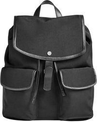 Skagen - Farver Rucksack Leather-trim Backpack - Lyst