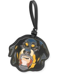Givenchy - Men's Leather Rottweiler Charm For Bag Or Briefcase - Lyst