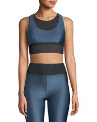 Koral Activewear - Utopia Layered Mesh Sports Bra - Lyst