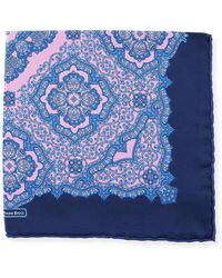 Stefano Ricci - Luxe Paisley Pocket Square - Lyst