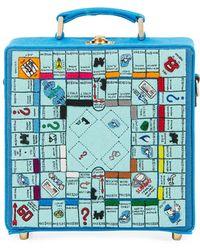 Olympia Le-Tan - Paris Monopoly Game Board Box Shoulder Bag - Lyst