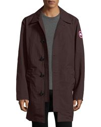 Canada Goose - Wainwright Button-front Coat - Lyst