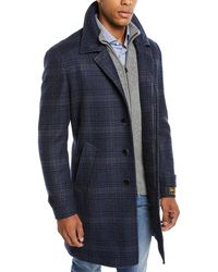 42826e4b764 Lyst - Neiman Marcus Single-breasted Cashmere Top Coat in Black for Men
