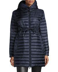 Moncler - Barbel Hooded Down Coat - Lyst