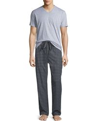 Neiman Marcus - Men's Two-piece Flannel Pajama Gift Set - Lyst