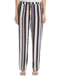 Hanro - Stripe Pattern Lounge Pants - Lyst