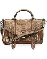 Proenza Schouler - Ps1+ Tiny Leather Satchel Bag - Lyst