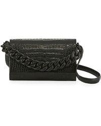Nancy Gonzalez - Thick Chain Flap Crossbody Bag - Lyst