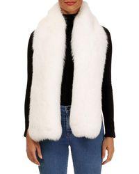 Gorski - Shadow Fox Fur Boa - Lyst