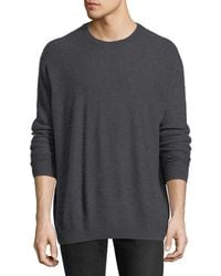 Vince - Boiled Cashmere Crewneck Sweater - Lyst