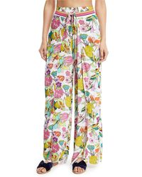 Trina Turk - Key West Botanical Split-leg Wrap Pants - Lyst