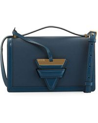 Loewe | Barcelona Small Grain Leather Crossbody Bag | Lyst