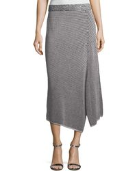 NIC+ZOE - Frosted Fall Asymmetric Skirt - Lyst