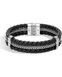 John Hardy - Men's Classic Chain Woven Bracelet - Lyst