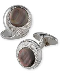 Dunhill - X Centric Mother-of-pearl Cufflinks - Lyst