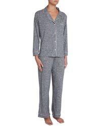 Eberjey - Bobby Classic Pajama Set - Lyst